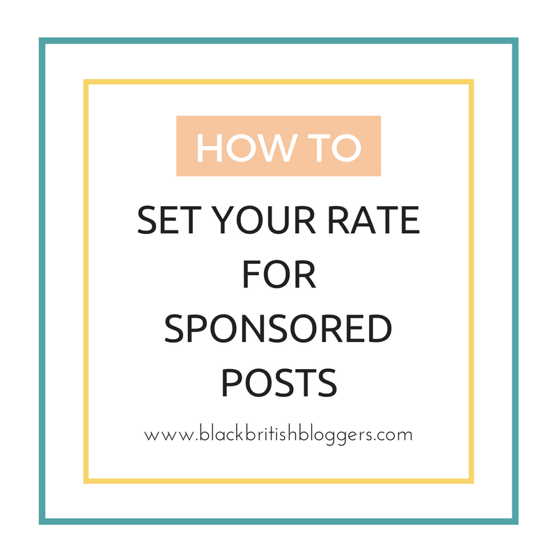 how to set rate sponsored posts