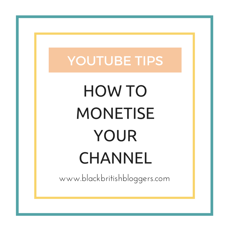 monetise youtube