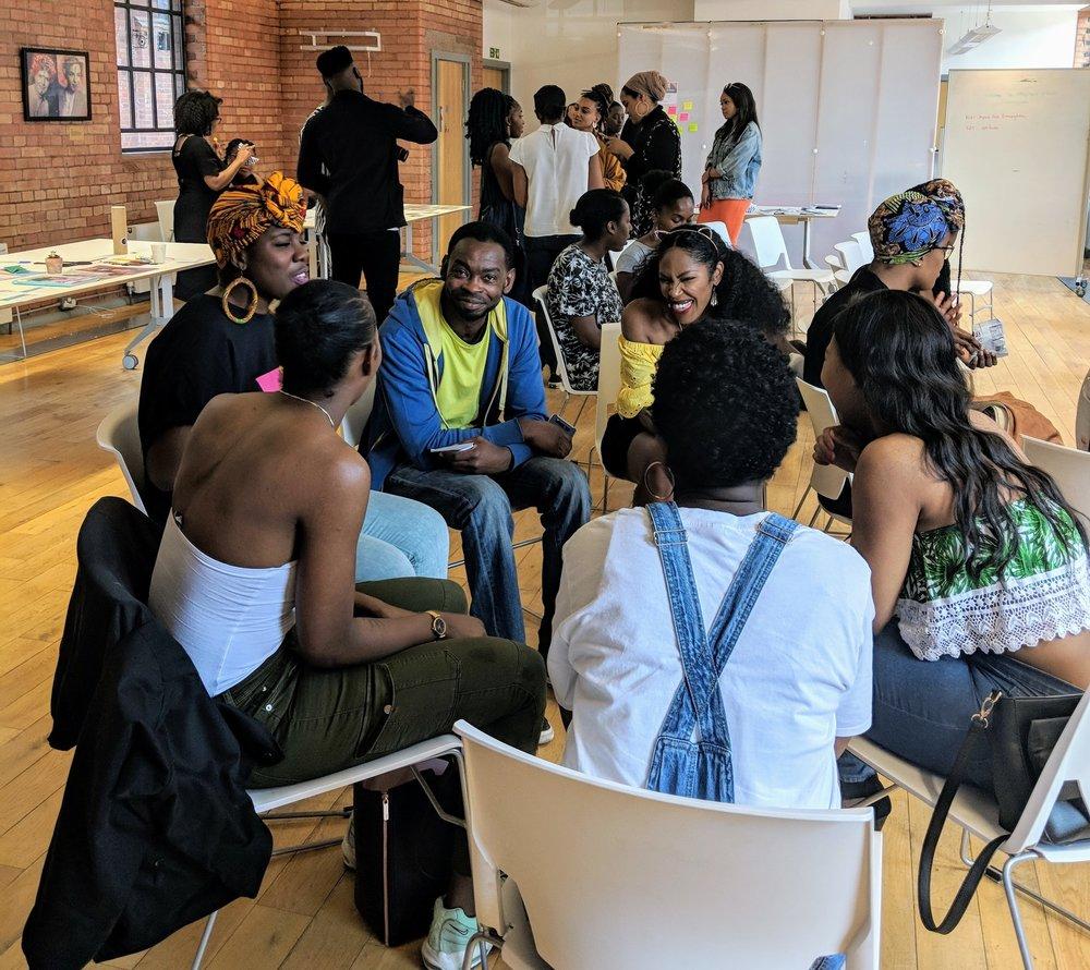 Black British bloggers Birmingham