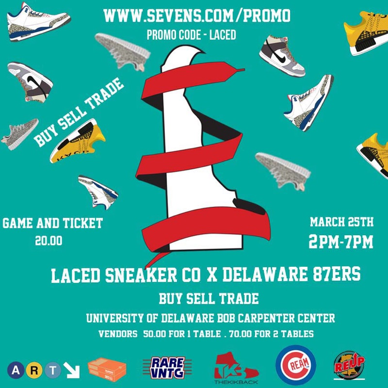 "FOR EVENT DETAILS AND TICKET PURCHASE CLICK ON FLYER ABOVE OR LINK BELOW. TYPE IN ""LACED"" AS PROMO CODE!!!! CLICK CLICK CLICK!!! HTTP://WWW.SEVENS.COM/PROMO"