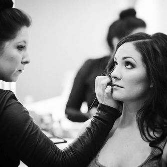 Holly - makeup.