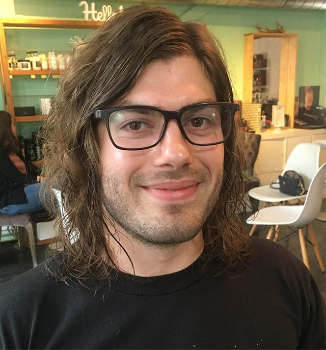 I loved his long locks but, this shorter look is definitely hip.  By @formandsymbol • • • • #haircut #hair #summercut #austinsalon #austinstyle #texturedhair #menshair #naturalhair #atxstyle #intuitivehairstylist #intuitivehairdressing #austin #beachyhair #longhairmenstyle