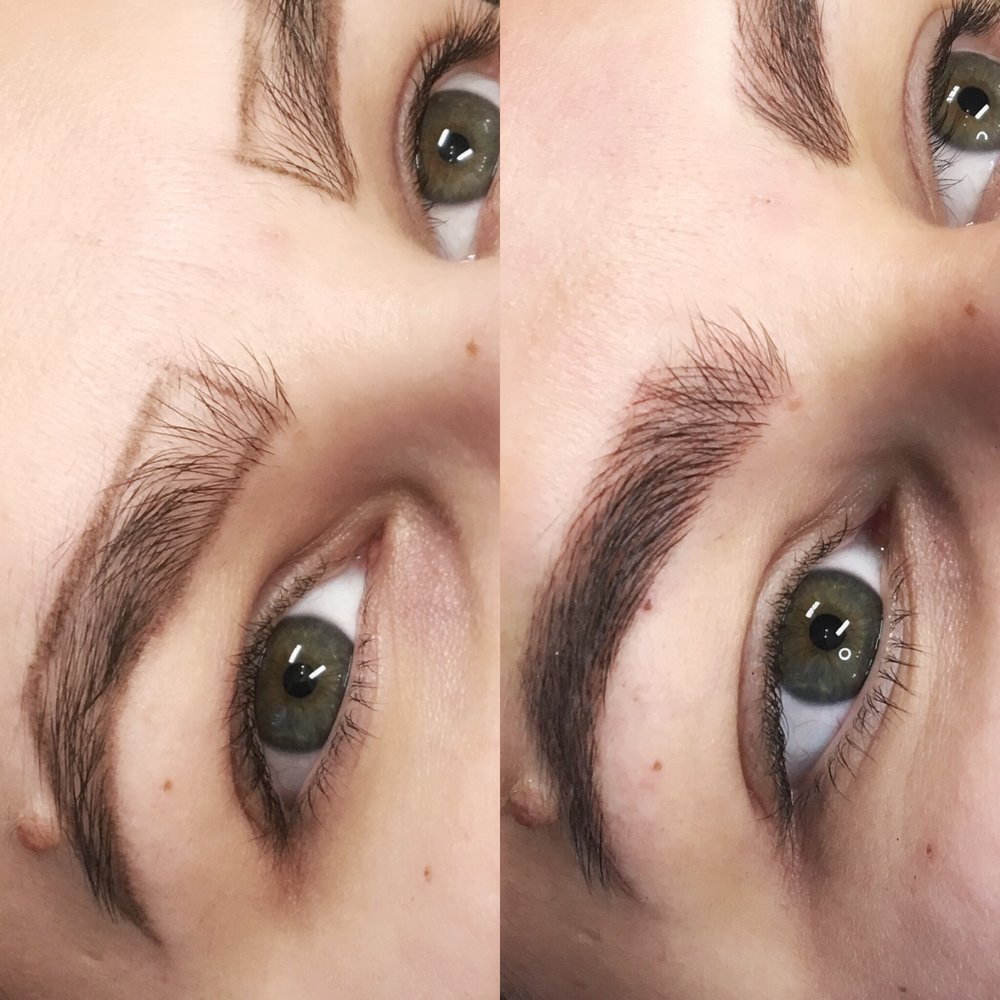 Natural looking brows in just over 2 hours. Our brows last 18-24 months and will save you valuable time each morning. -