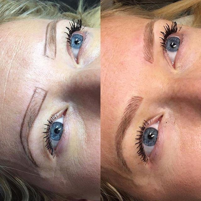 Wow! Did one of my favorite #browtransformation's to date today 😘⠀ ⠀ Brows by @marismalonecalderon⠀ .⠀ .⠀ .⠀ .⠀ #microblading #microbladingbrows #permanentmakeup #microbladingartist #micropigmentation  #hairstrokes #microbladingacademy #microbladingtraining #eyeliner #tattoo #pmu #browsonfleek #eyebrowtattoo #lash #eyebrowsonfleek #austinmom #austinwoman #austinsocial #micropingmentation #microbladingbrows #austin #austintx #atx #eyebrows #microbladingsananonio #microbladingdallas #microbladinghouston #microbladingtexas #texasbeauty