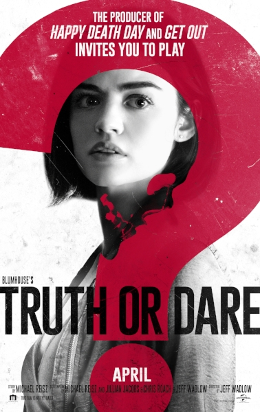 Join HCFF for a FREE advanced screening of Truth or Dare - Student ID required for entry.