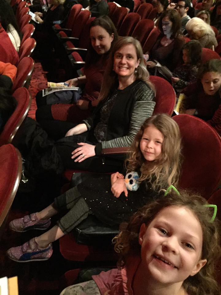 Sisters' first musical (Lion King)