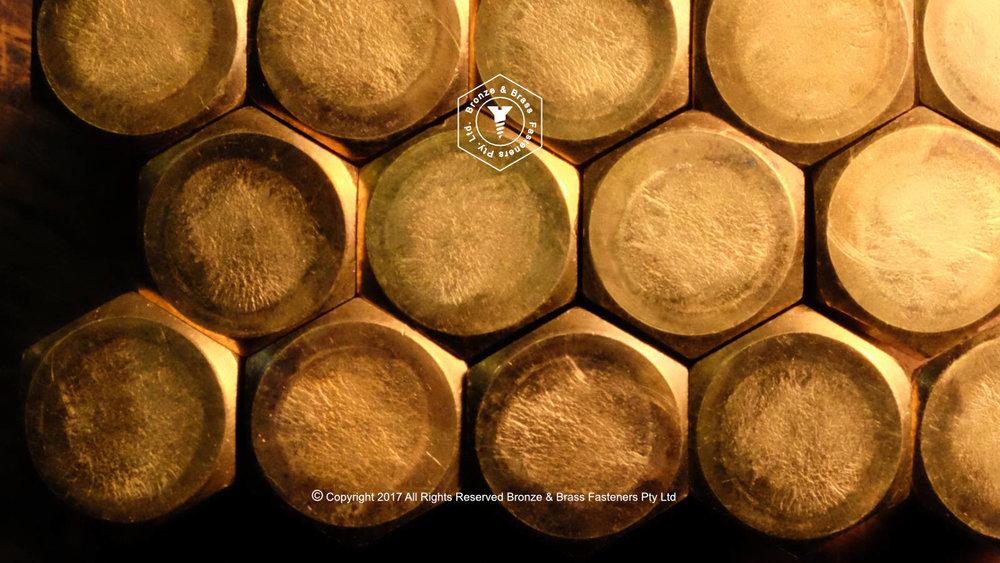 Brass Hex Cap Screws Metric & UNC, BSW
