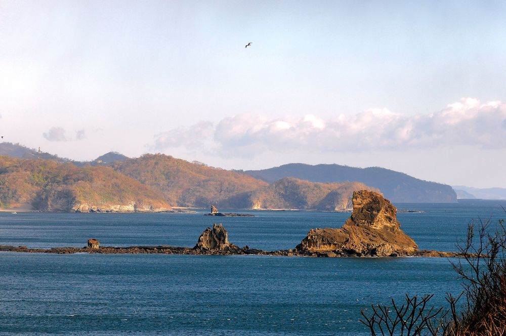 The actual Morgan's Rock located in front of our bay.jpg