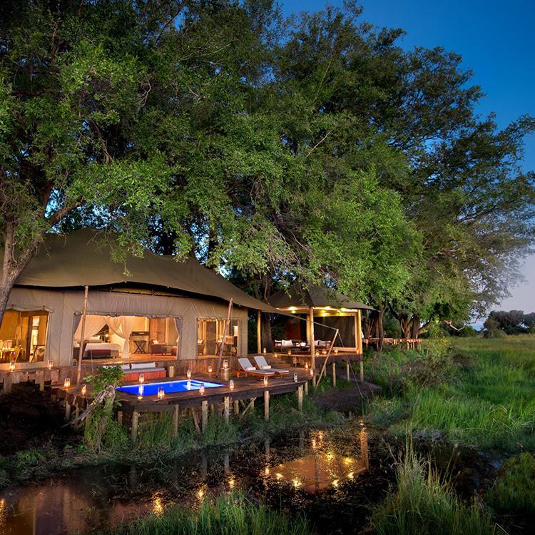 Duba Plains Camp | Okavango Delta, Botswana
