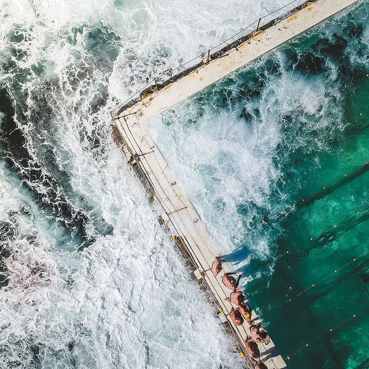 Ocean and pool | Bondi Beach