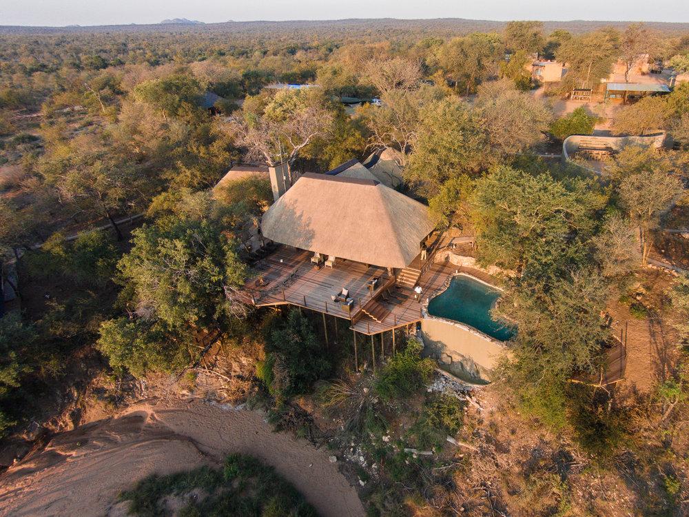 Garonga Main Lodge from the air 02.jpg