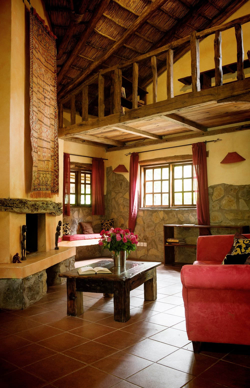 The River House - lounge & fireplace.jpg