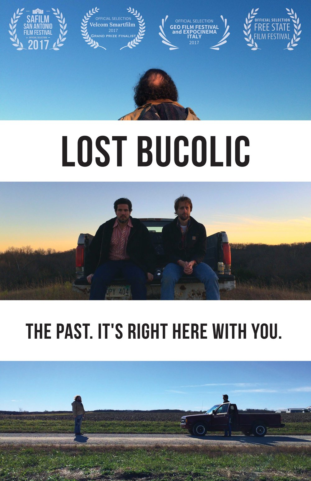 FATHER FLATBUSH PRODUCTIONS presents LOST BUCOLIC by SHANE HOWARD and STEPHEN FELIX with CURT ALAN ENOS and KALEE FORSYTHE music by NATHAN FELIX produced by SHANE HOWARD RUYA KOMAN and ZACK PISTORA screenplay by SHANE HOWARD and STEPHEN FELIX inspired by their play THE OLD MAN