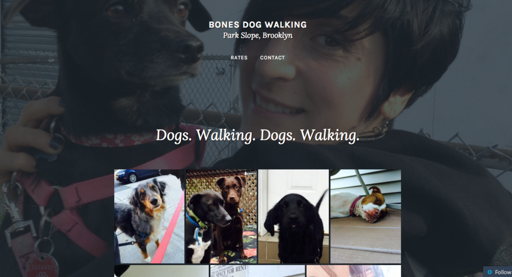 Bones Dog Walking