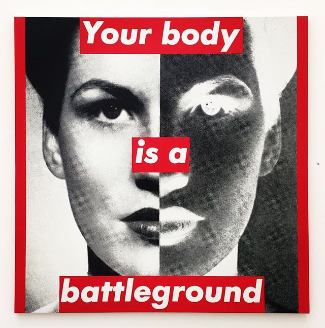 Love you Barb 💥 #barbarakruger #thebroad #LA #💪