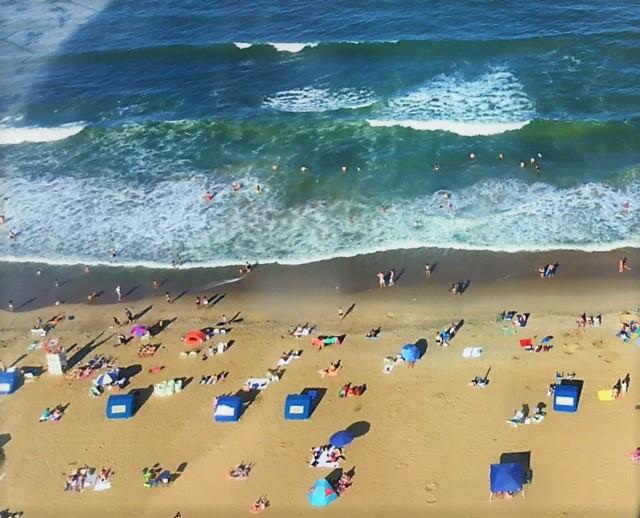 TEAM UP! - OCEAN FUN IN THE SUN...ALWAYS NEAR OTHERS!