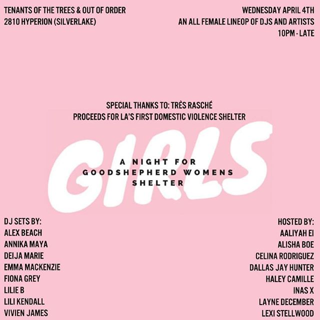🐰💕SEE U TONIGHT!💕🐰. . I play at midnight but come early to dance & raise money for a great cause xx