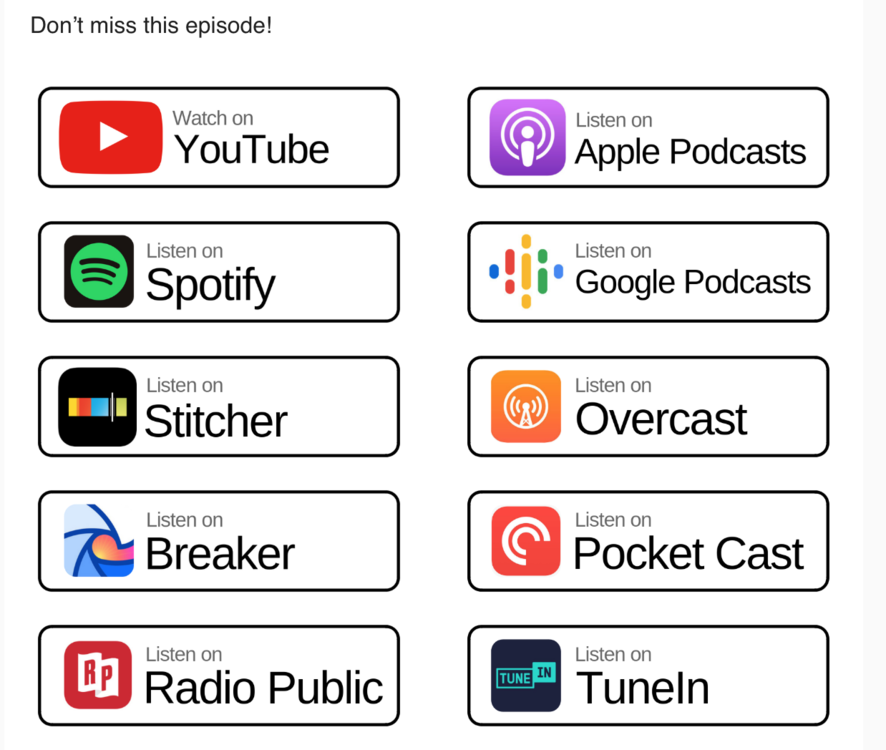 podcast options