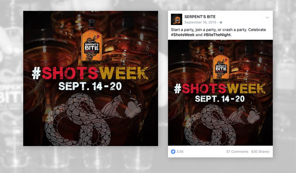 #ShotsWeek Campaign