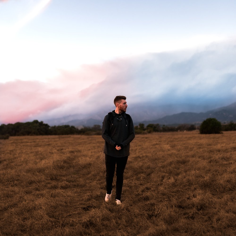 Hey, I'm Kyle! - I am a Photographer & Videographer based in Santa Barbara, CA, and offer my services in all of California, Oregon, and Washington! Click the button below to read more about me!