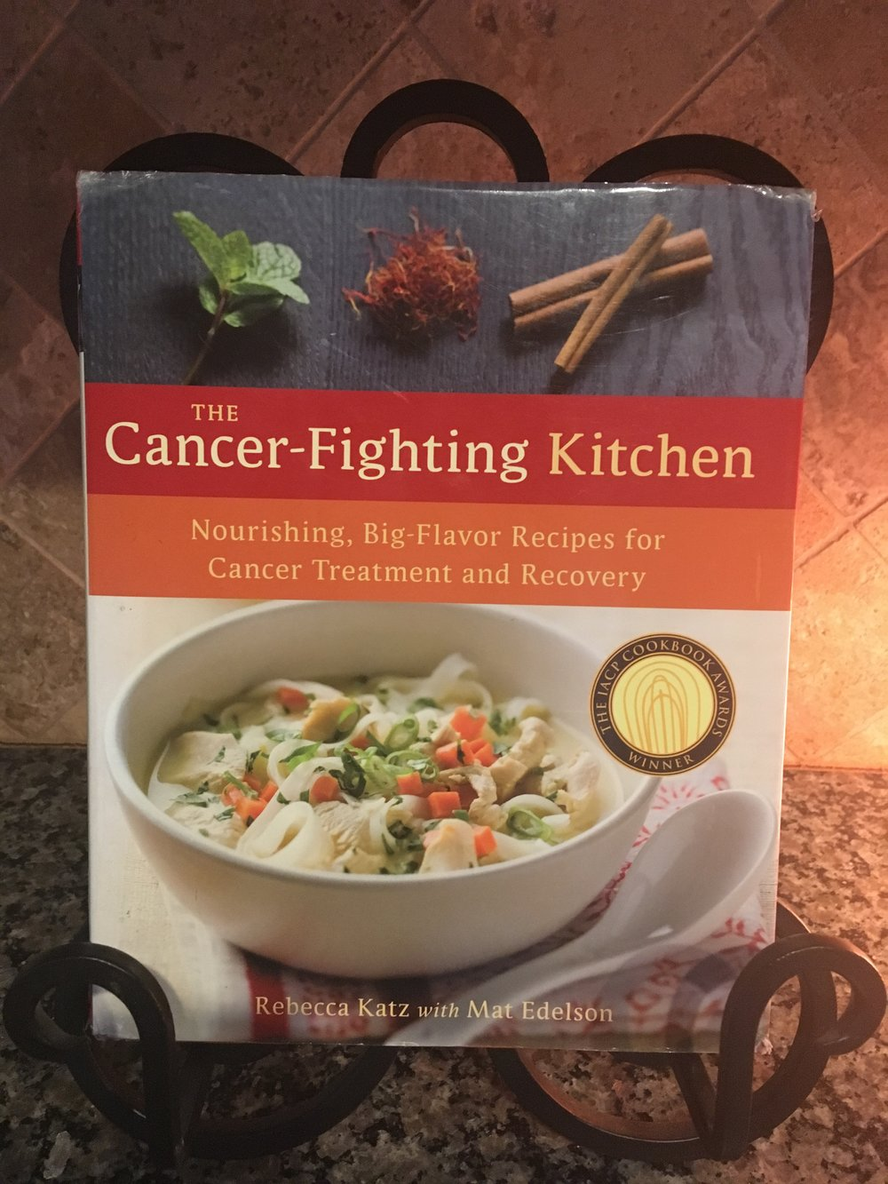 This is the book where I first learned that Food can be medicine and could help me with side effects and to heal.