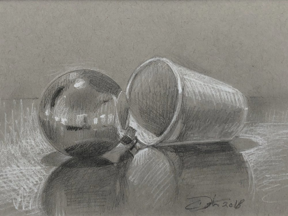 Ball and cup