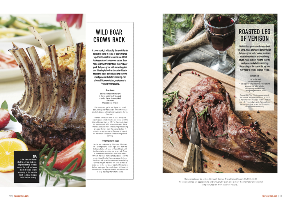Flava Magazine - Holiday Game Meats