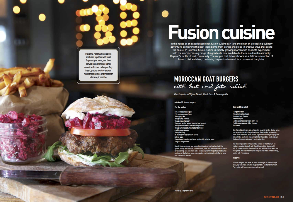 Flava Magazine - Fusion Cooking