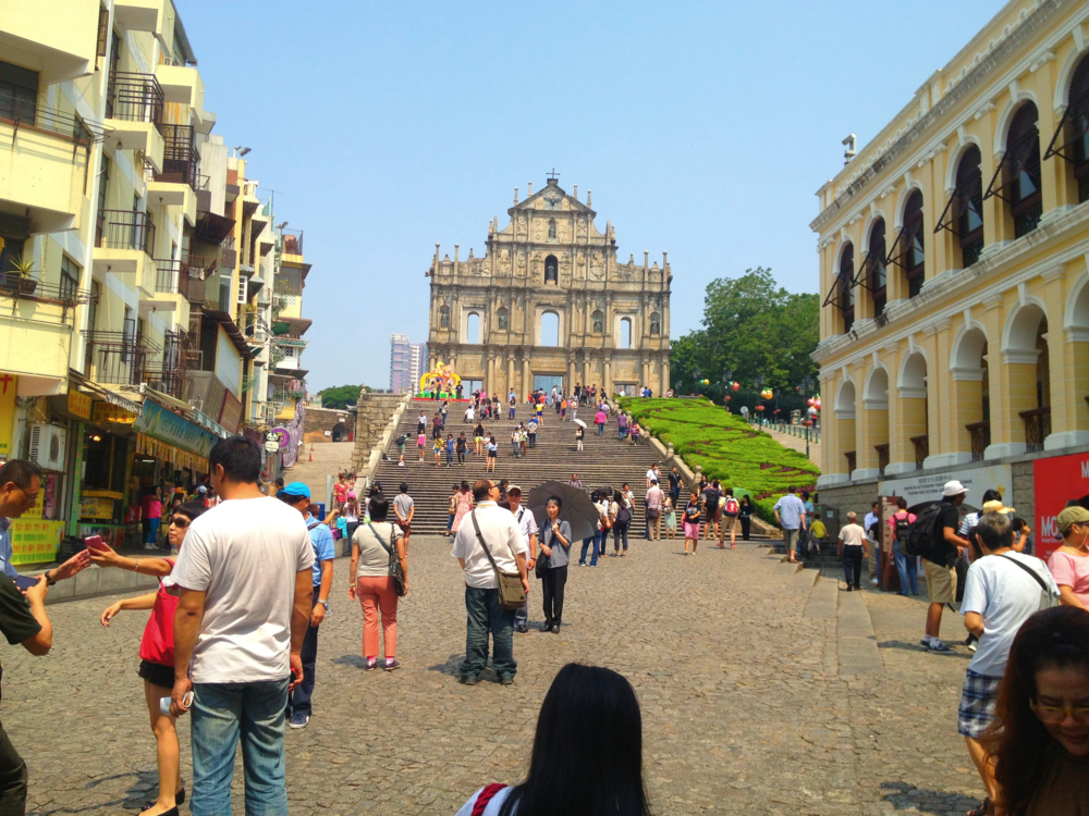 Ruins of St. Paul in Macau