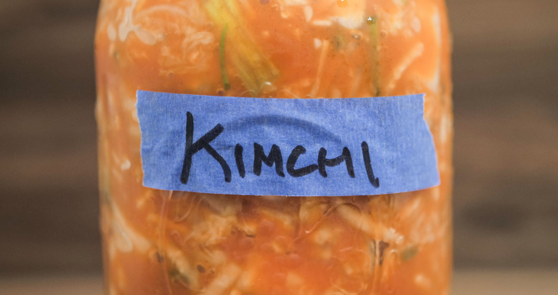 Recipe : Kimchi, the Super(hero)food