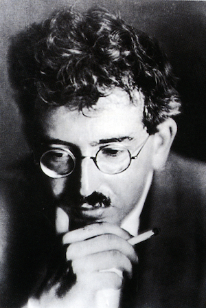 Walter Benjamin about 1925 ©  Pictorial Press Ltd  / Alamy Stock Photo.