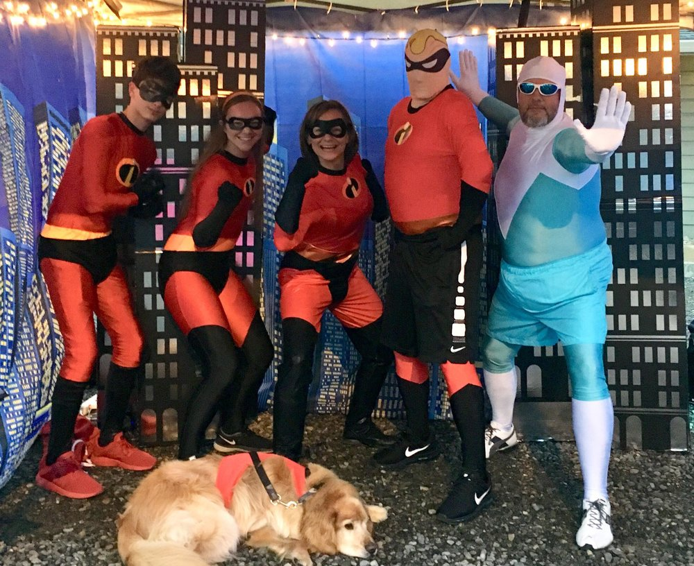 2018 pEOPLE'S CHOICE AWARD GOES TO The incredibles- The gubser family .