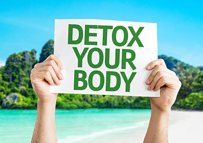 The detoxification differnce.