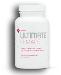 ultimate female vitamins, minerals, herbs (orenda)