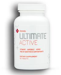 ultimate active vitamins, minerals, herbs (orenda)