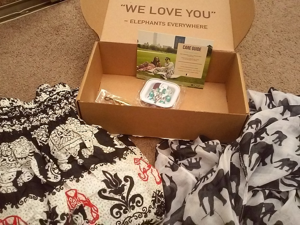 awesome gift mystery box from Elephant Pants