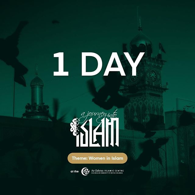 One day left to this year's A Journey Into Islam! We are sold out of spots for dinner, but we highly encourage you to come and visit our amazing exhibits to learn about all the different facets of Islam. Just make sure to register for the Exhibition ticket, see you there! #AJII19