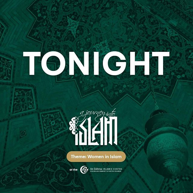 Are you excited?! The doors open at 5:30 tonight! See you in a few hours for the busiest A Journey Into Islam to date! Keep in mind that we do offer childminding at the event. #AJII19 #Islam #Muslim #Event #Journey #Exploration