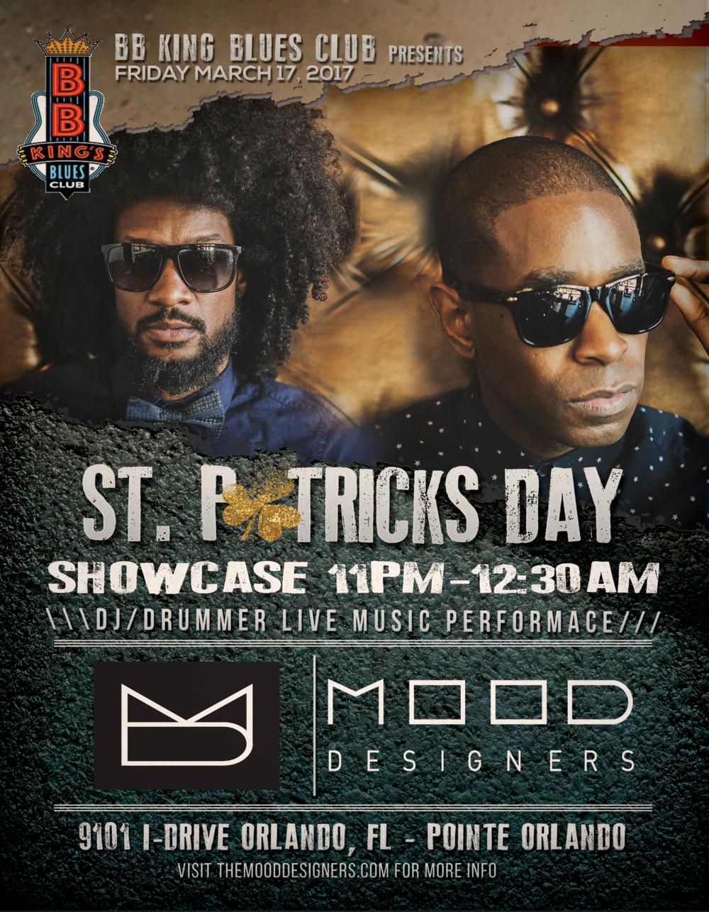 The Mood Designers St Patricks Day Showcase