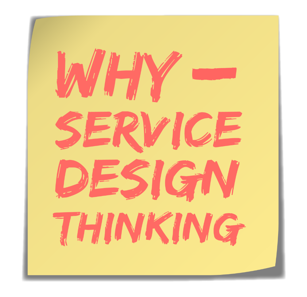 Why Service Design Thinking, the podcast for businesses that want to do things better and do better things.