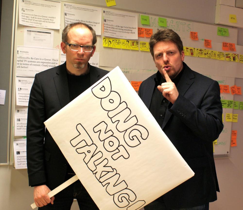 Markus Edgar Hormeß and Adam StJohn Lawrence, Co-Founders of the Global Service Jam