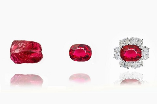 """- RAPAPORT...The Swiss Gemmological Institute (SSEF) has launched a service for linking polished gemstones to their original rough, it said Tuesday.GemTrack creates a fingerprint that documents the stone's journey from mine to market, based on analyses of the stone's crystallographic, structural, chemical and microscopic features.""""Given the growing demand for provenance and traceability in our industry, we felt that SSEF can provide a truly independent gemological documentation for a gem on its journey from the rough to cut state, and even to its being set in jewelry,"""" said Michael Krzemnicki, director of SSEF.Image: Colored gemstone from rough to finished. (Swiss Gemmological Institute)"""