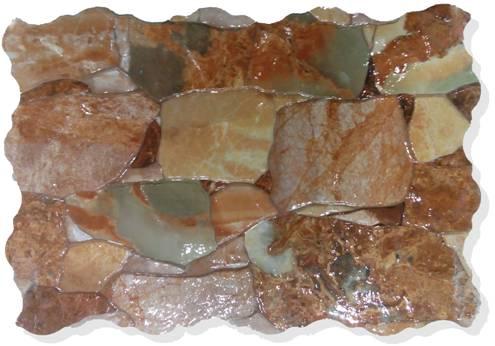 Rocas Onix Verde  · 31x45
