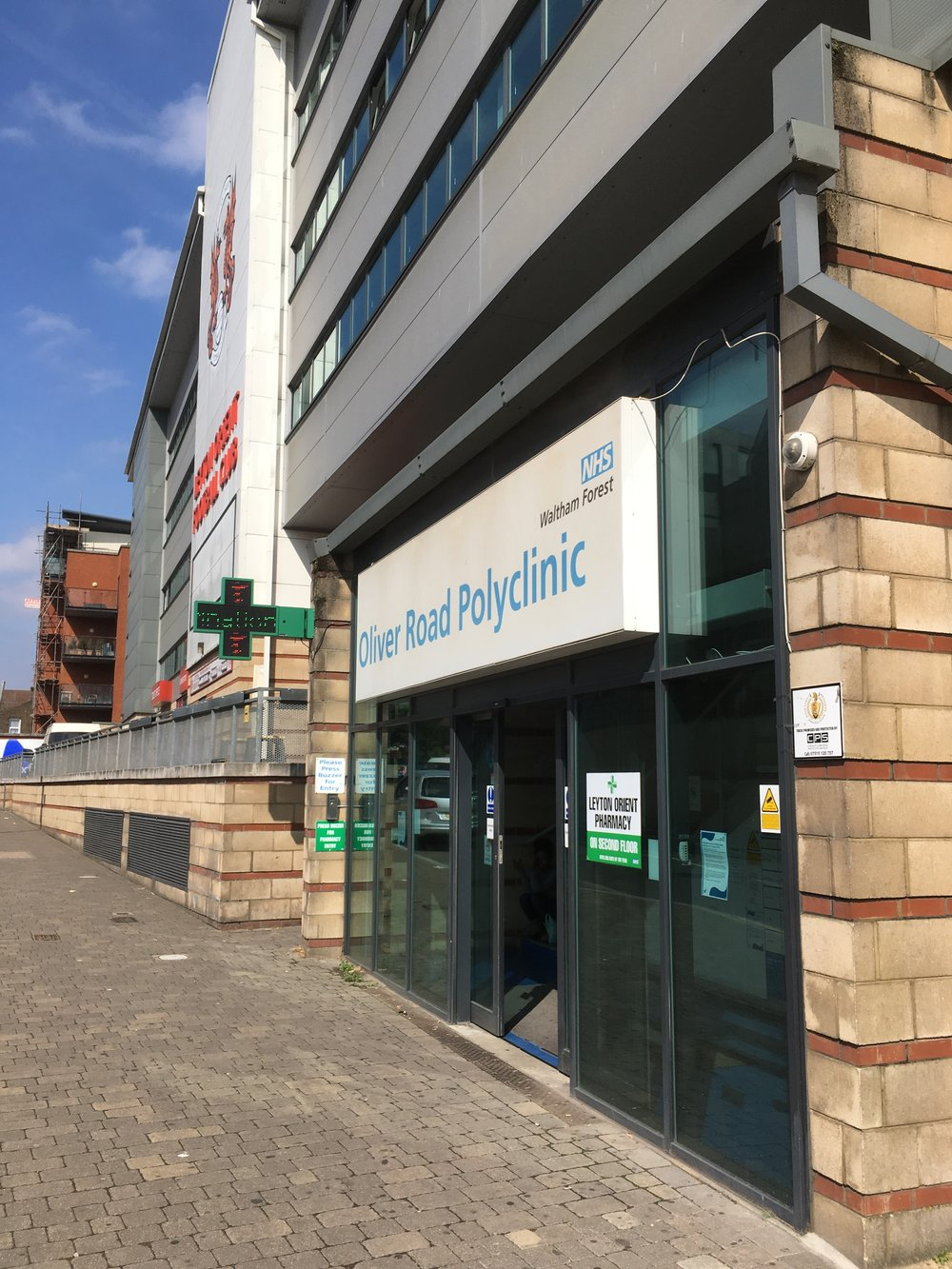 Oliver Road Polyclinic, Leyton Healthcare, 4th Floor,  London