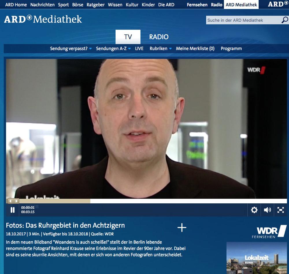 WDR-LOKALZEIT RUHR- 18.Oktober 2017