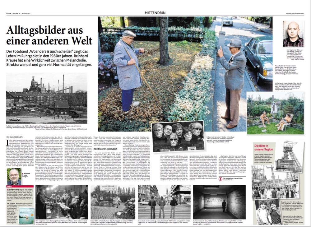 Aachener Zeitung 25.11.2017