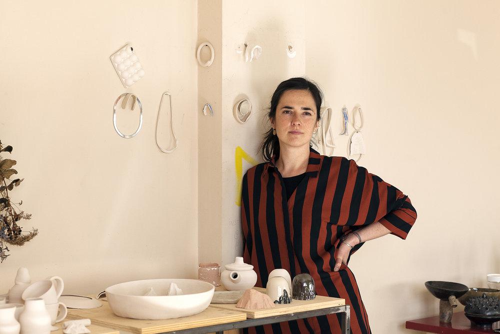 Anne-Sophie Moors, ceramist