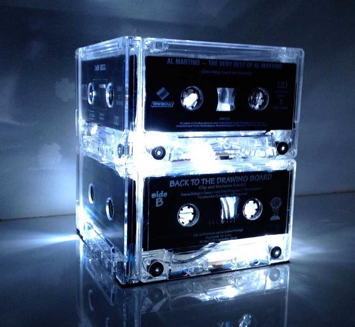Cassette Tape Light