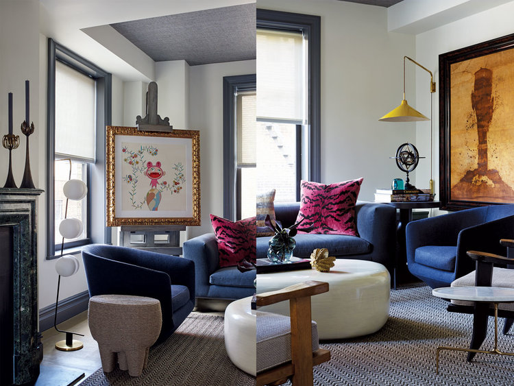 48 Eclectic New York Apartments To Dream About Style Space Simple 5 Bedroom Apartment Nyc Painting