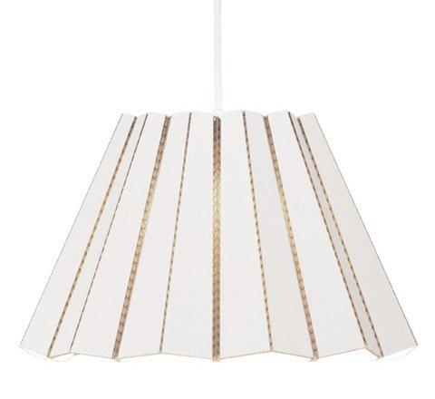 Cardboard Pendant - White - $149